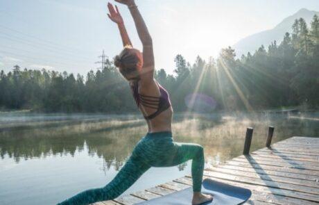 Yoga und Kanu - Yoga