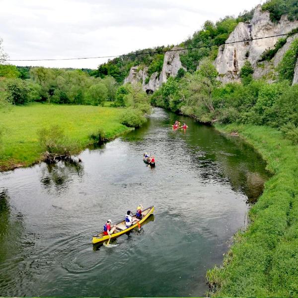 Kanutour Donautal