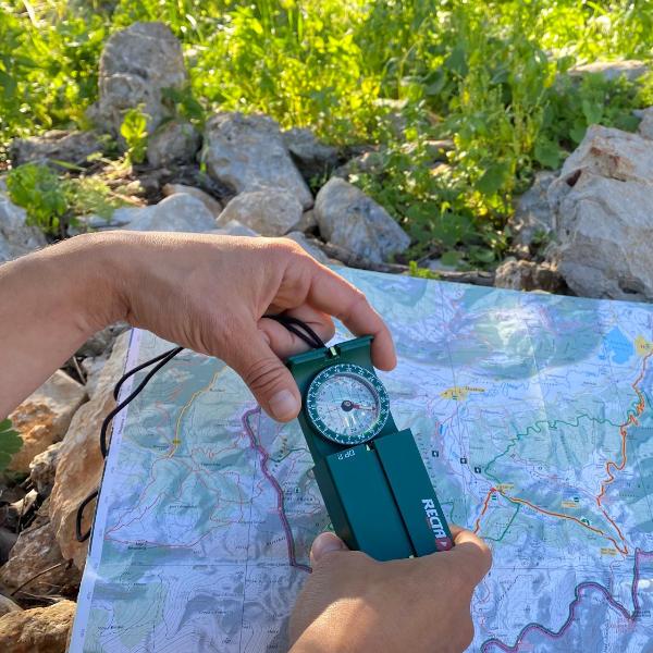 Meine Ziele & Ressourcen - Kompass